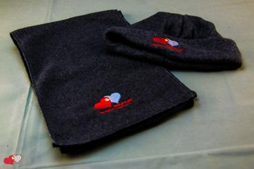 Fleece Set - Mütze/Schal